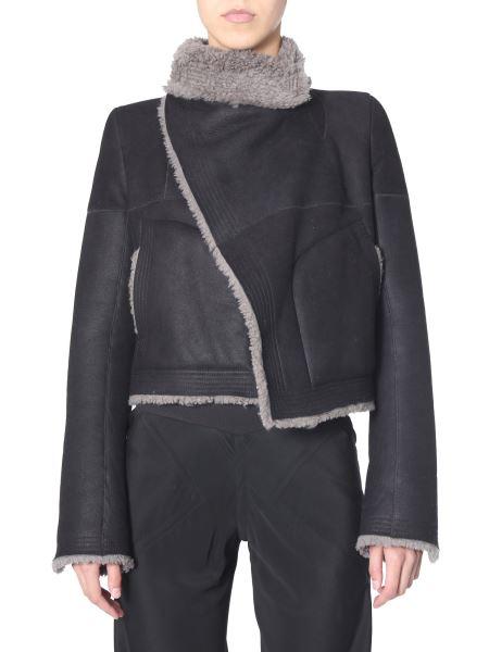 Rick Owens - Biker Shearling Jacket