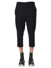 RICK OWENS - PANTALONE SLIM CROPPED ASTAIRES