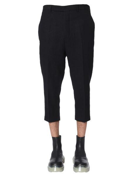 Rick Owens - Pantalone Slim Cropped Astaires