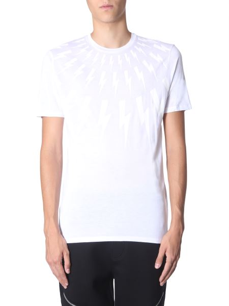 Neil Barrett - Printed Round Neck T-shirt