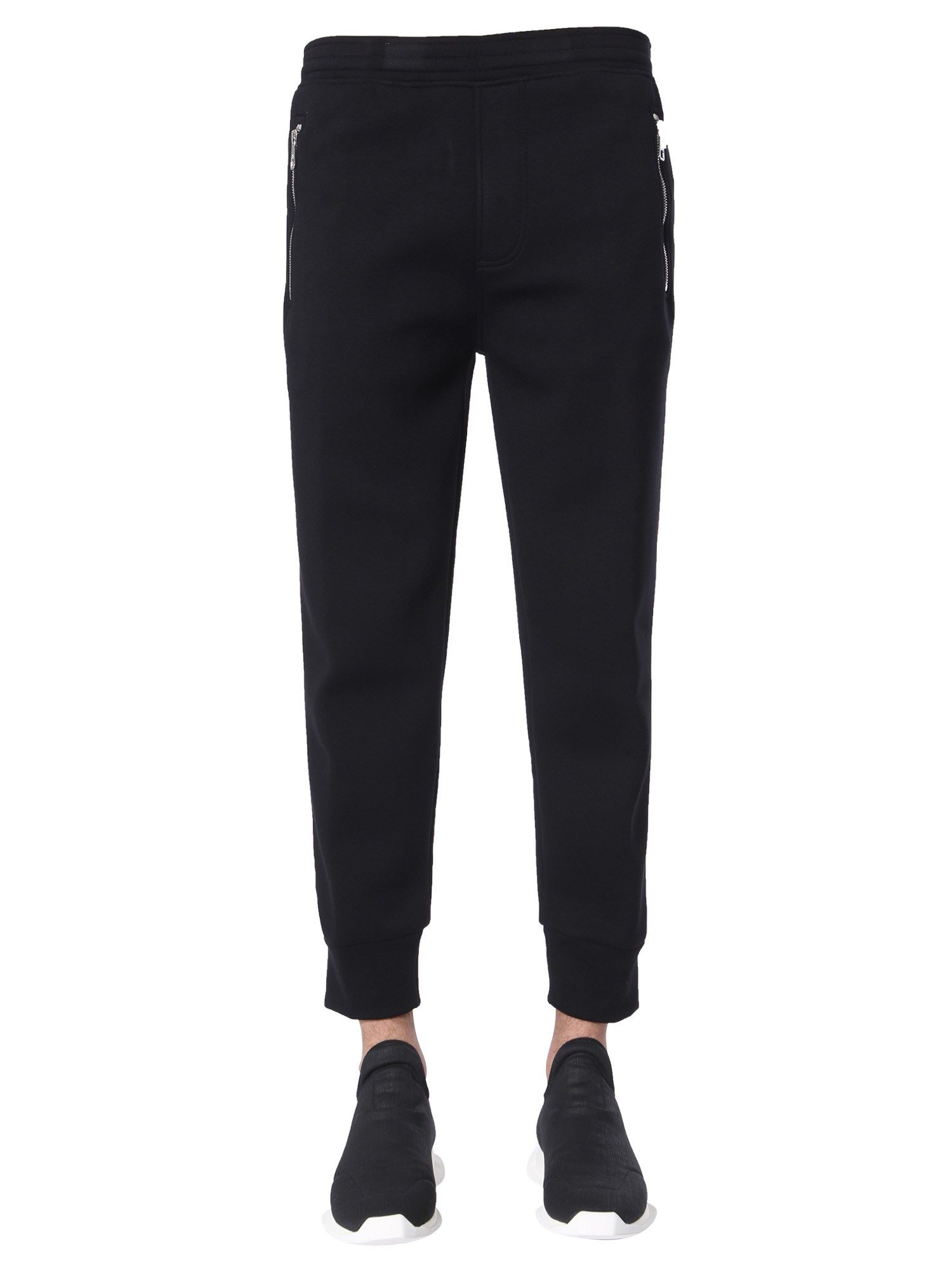 neil barrett skinny fit trousers