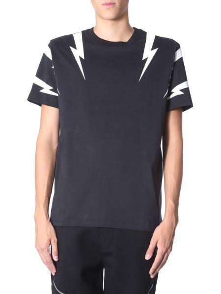 "Neil Barrett - T-shirt ""tiger Bolt"""