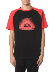 NEIL BARRETT - T-SHIRT GIROCOLLO