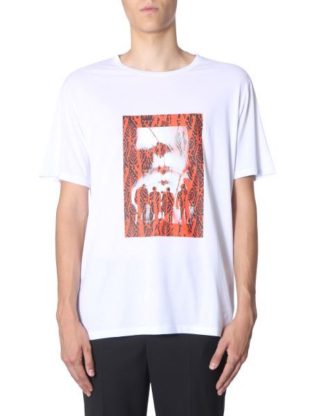 "Neil Barrett - ""chaotic Subway"" Cotton T-shirt"