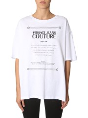 VERSACE JEANS COUTURE - T-SHIRT OVERSIZE FIT