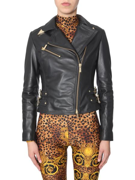 Versace Jeans Couture - Giacca In Pelle