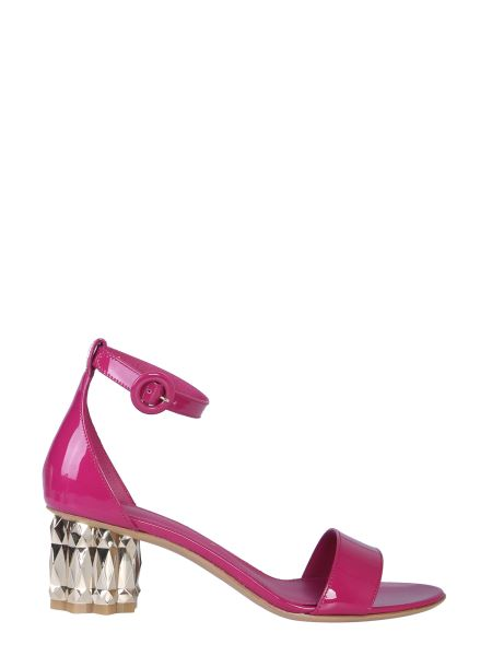 Salvatore Ferragamo - Azalea Leather Sandal