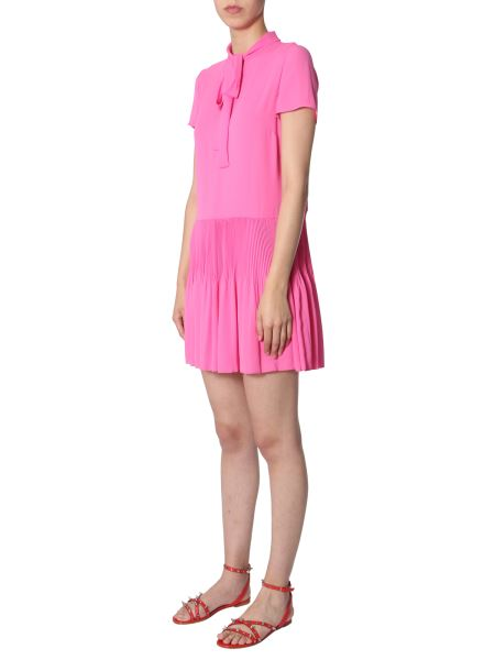 Red Valentino - Dress In Flowing Design With Bow