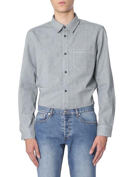 A.p.c. - Trek Oversize Fit Cotton Shirt