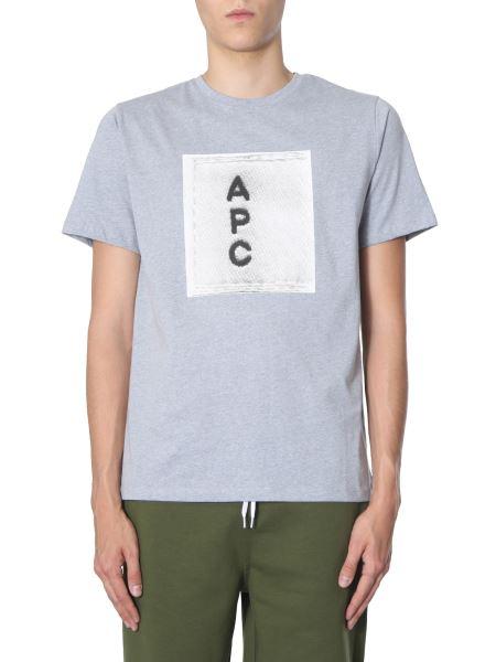 A.p.c. - T-shirt Con Logo