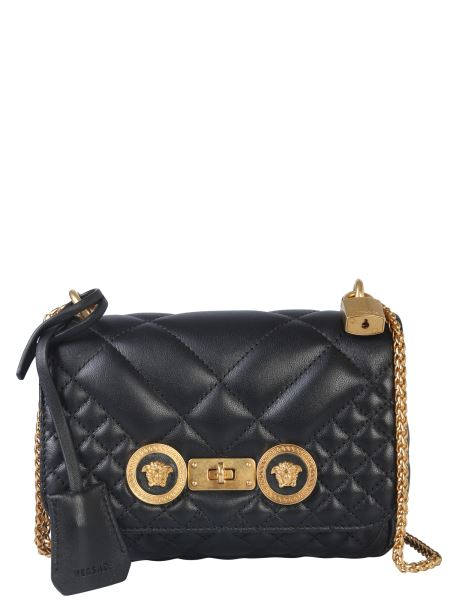 Versace - Small Icon Leather Shoulder Bag