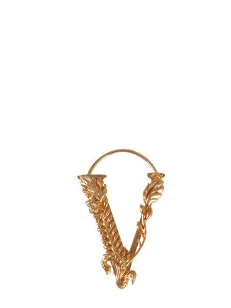 Versace - V Brass Earring