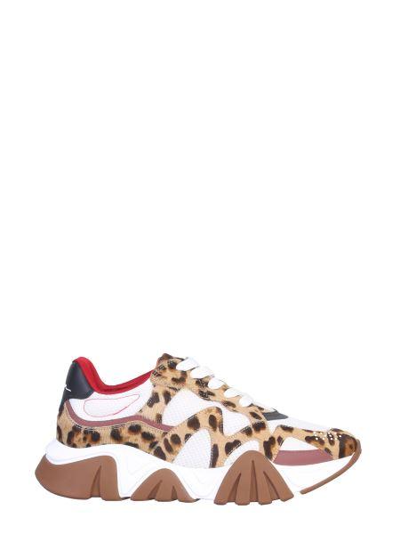 Versace - Shark Leopard Pony Sneaker