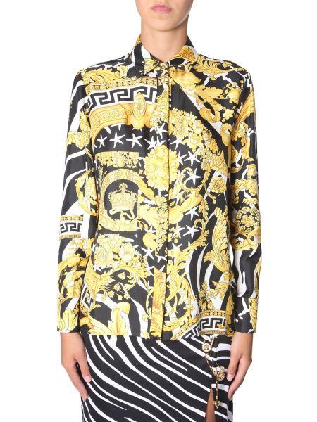 Versace - Baroque Printed Silk Shirt