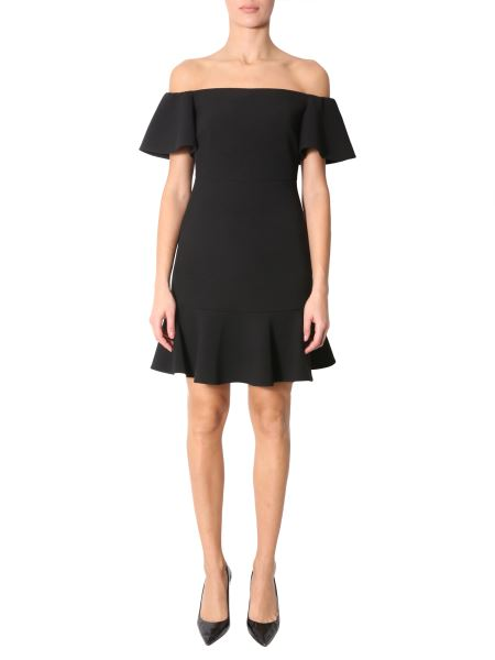 Michael By Michael Kors - Knit Dress With Ruches