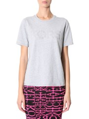 MICHAEL BY MICHAEL KORS - T-SHIRT STAMPA LOGO CON BORCHIE