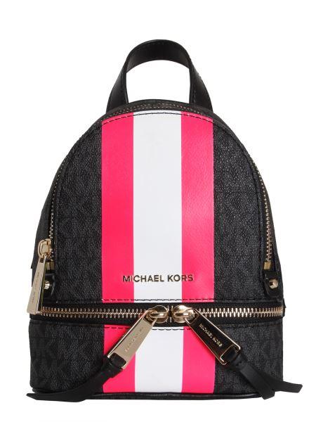 Michael By Michael Kors - Mini Rhea Zip Leather Backpack