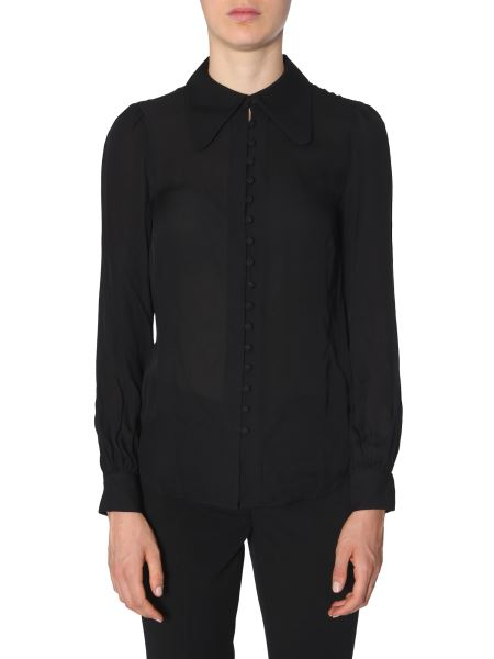 Michael By Michael Kors - Silk Blouse With Buttons