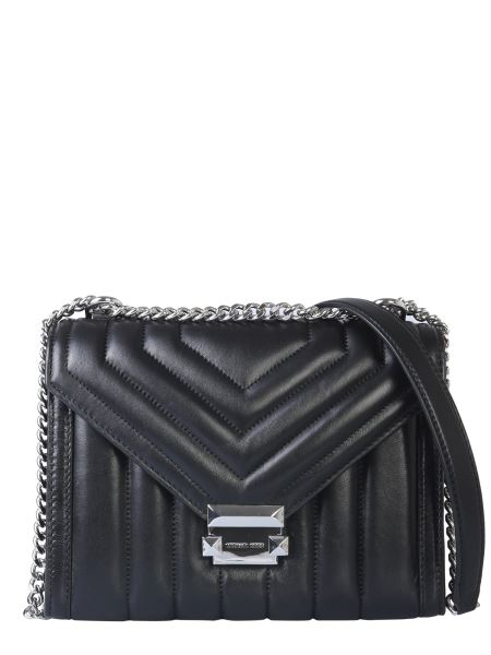 Michael By Michael Kors - Large Whitney Convertible Shoulder Bag In Quilted Leather