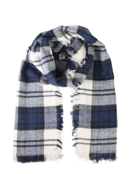 Woolrich - Tartan Scarf With Fringes