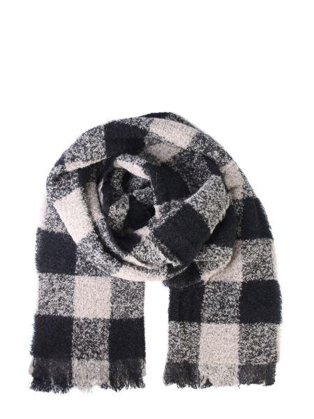 Woolrich - Bouclè Tartan Virgin Wool Scarf