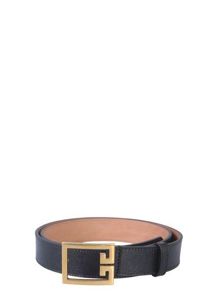 Givenchy - Gv3 Leather Belt