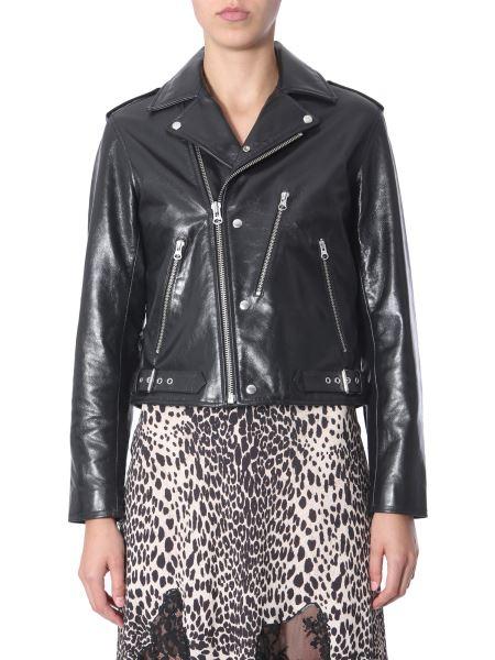 Mcq Alexander Mcqueen - Biker Leather Jacket
