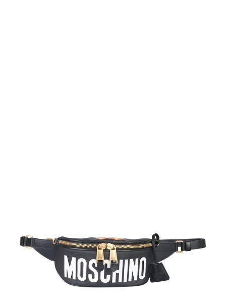Moschino - Logo Print Polyurethane Pouch
