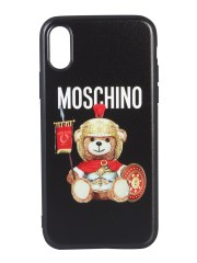 MOSCHINO - COVER IPHONE XS ROMAN TEDDY BEAR