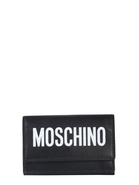 Moschino - Moschino Print Leather Wallet