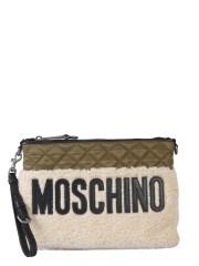 MOSCHINO - CLUTCH TRAPUNTATA