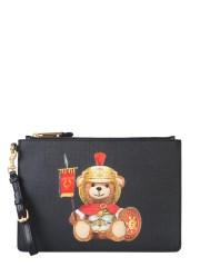MOSCHINO - POUCH ROMAN TEDDY BEAR