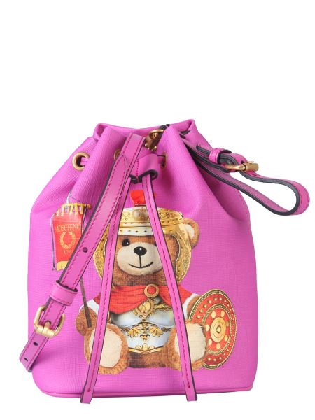 Moschino - Bucket Bag With Roman Teddy Bear
