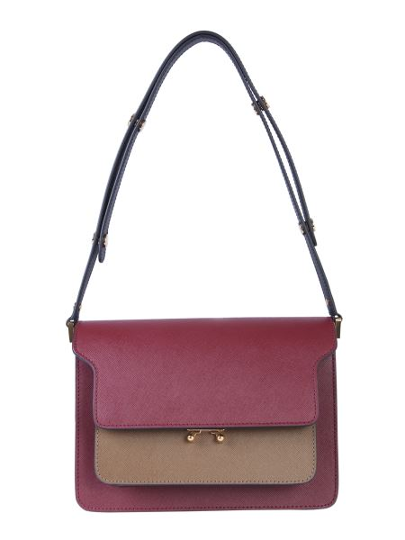 Marni - Borsa Trunk In Pelle