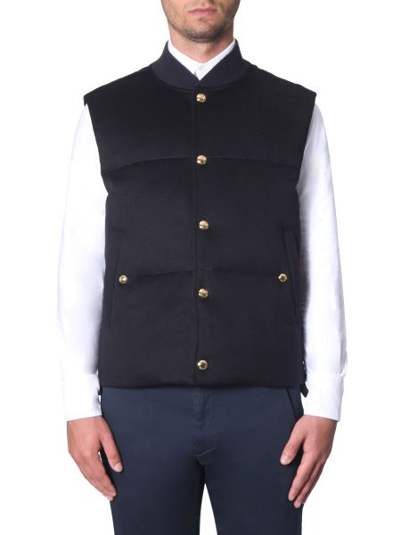 Thom Browne - Sleeved Down Jacket In Cashmere