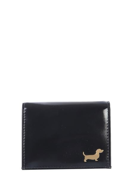 Thom Browne - Hector Stud Leather Card Holder
