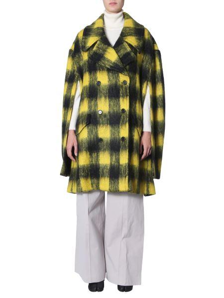 Maison Margiela - Check Hooded Wool Sweatshirt