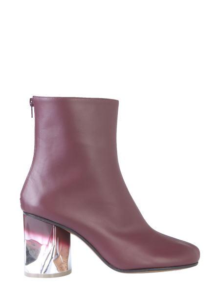 Maison Margiela - Crushed Heel Leather Boots