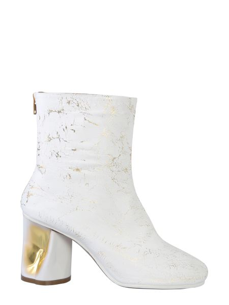 Maison Margiela - Crushed Heel Leather Boot