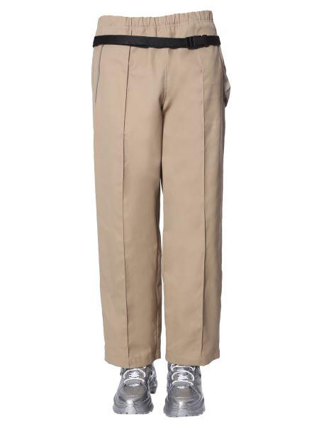 Maison Margiela - Pantalone In Cotone Con Marsupio