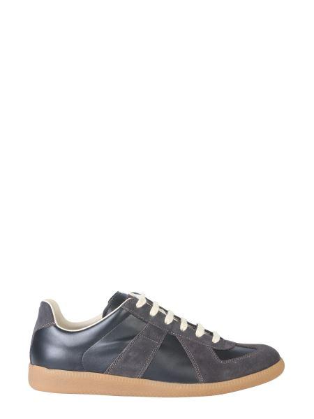 Maison Margiela - Sneaker Replica In Pelle Di Vitello E Scamosciata