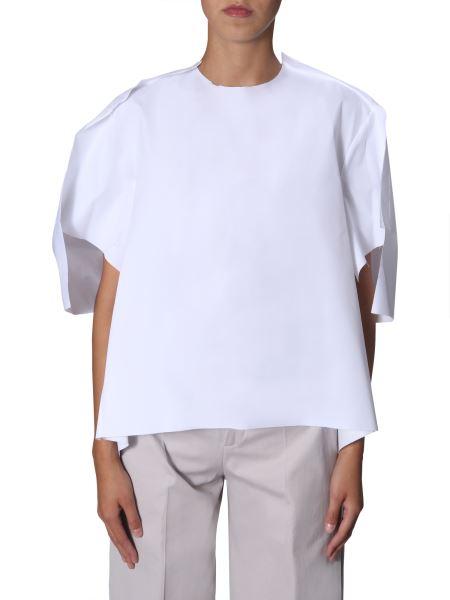 Maison Margiela - Oversize Fit Cotton Loomed Shirt