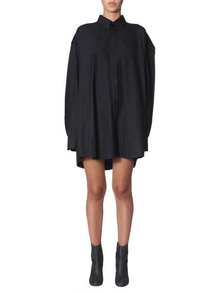 Maison Margiela - Cotton Oversize Fit Shirt Dress