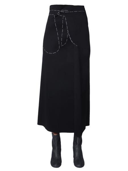Maison Margiela - Long Viscose Skirt