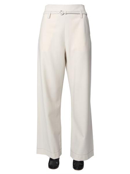 Marni - Pantalone Ampio In Flanella Di Lana