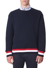 THOM BROWNE - PULLOVER CHUNKY LOOPBACK