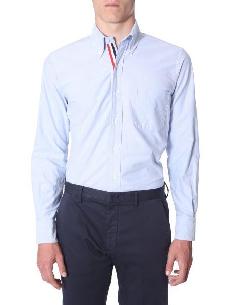 Thom Browne - Oxford Button Down Cotton Shirt