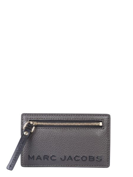 Marc Jacobs - Leather Card Holder With Logo