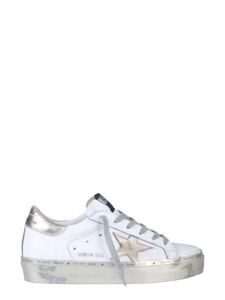 Golden Goose Deluxe Brand - Hi Star Leather Sneaker