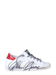 GOLDEN GOOSE DELUXE BRAND - SNEAKER SUPERSTAR CRACK-ICE